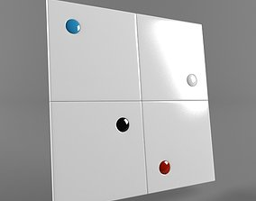 3D model Decorative Plaster - 04