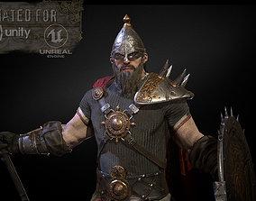 HeroOldWarrior 3D model