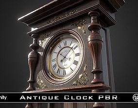 Antique Victorian Clock 3D model