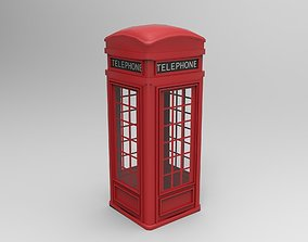 Telephonebooth 3D asset