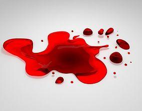 3D asset Blood 01