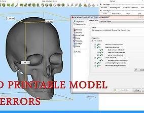 Skull 3D printable model miniatures