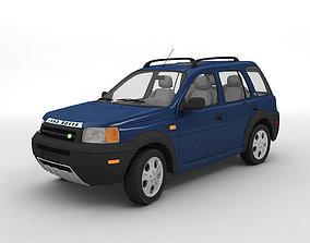 3D model 2002 Land Rover Freelander