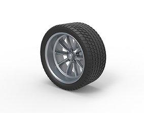 Diecast Sport wheel 10 3D print model