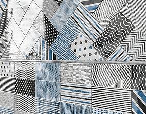 Aruba Decor Cold Ceramic Wall Tile 3D