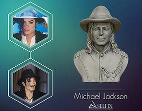 Michael Jackson 3D sculpture