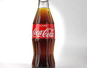250ml Coca-Cola Regular 250ML Glass Bottle 3D