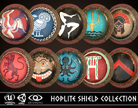 3D model Hoplite Shield Collection 2