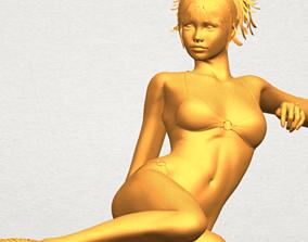 Naked Girl 3D Model deco