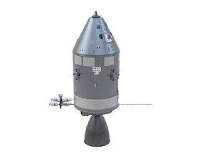Apollo Spacecraft 3D model