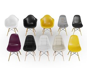 3D Pack 10 Eames Chair