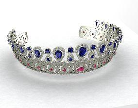 crown tiara 3D printable model