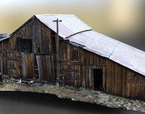 crescent moon main barn house 3D model