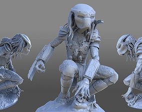 Predator 3D model figurines