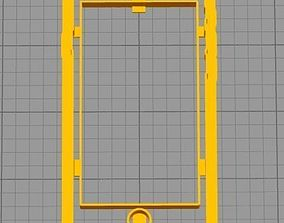 Cookie Cutter Phone Cell Cellphone 3D print model