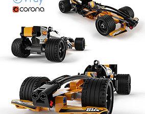 Lego Technic Black Champion Racer 3D model