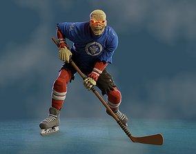 Eddie at Hockey 3D printable model