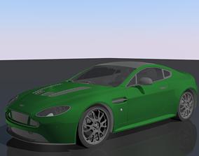 3D model AstonMartin Vantage