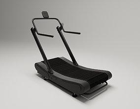Assault Treadmill - Crossfit 3D model