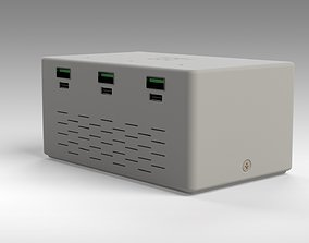 QC4 QC3 DIY charger model ready to print 180W max