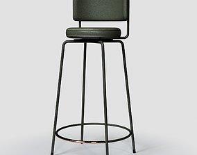 3D GESTALT NEW YORK The Diiva Stool seat