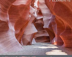 3D asset Canyon Antelope 7 Elements