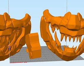 3D print model MASCARA mask mempo hannya estilo Cyber punk