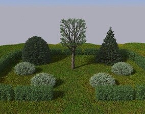 French Gardens 3D