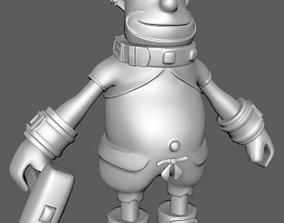 Cinna from FFIX 3D printable model