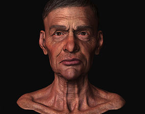 Old Man General 3D