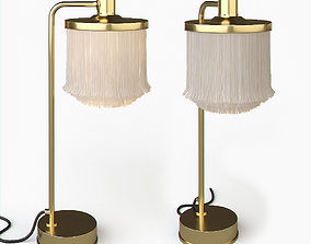 3D model Hans Agne Jakobsson Brass and Silk Cord Table