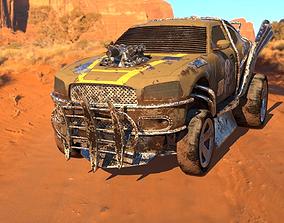 Dodge Charger Wasteland 3D model