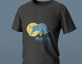 Basic T-shirt 3d model character