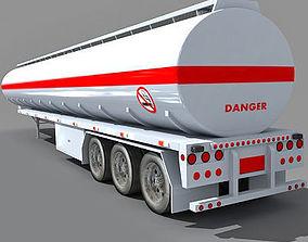 3D Tanker Trailer 2