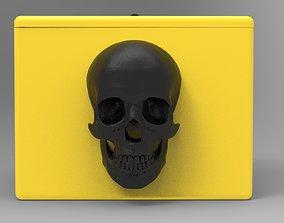 Box Skull 3D print model