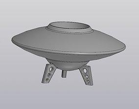 Flowerpot UFO 3D print model