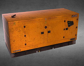 JCB Power Products generator Low-poly 3D model