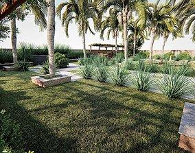 Landscape design 3d model and render in lumion