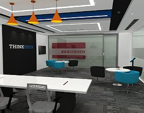 TRAINING ROOM LAYOUT 3D Design IBM PUNE