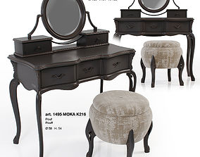 Giorgiocasa - Valpolicella - dressing table and pouf 3D