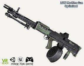 L86 LSW Machine Gun 3D asset