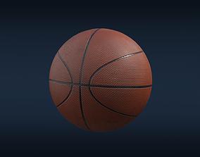 basket 3D asset realtime Basketball ball