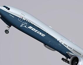 Boeing 777-9x 3D asset
