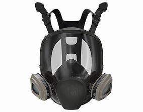 full face mask 3D model