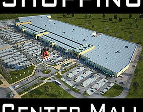 3D model Retail Store Mall M1 Full Textured Scene
