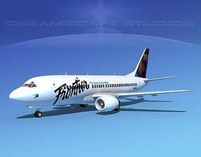Boeing 737-300 Frontier 2 3D model