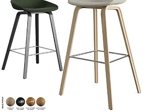 3D Hay - About A Stool Barstool and Counter Stool AAS 33