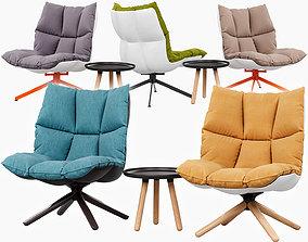 Husk armchair vray 3D model