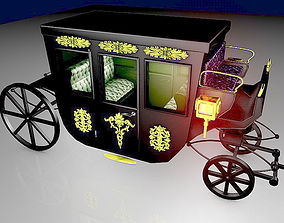 VIP Horse Carriage 3D