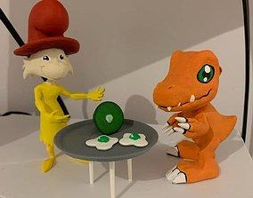 animal Netflix Original Green Eggs and Ham Bundle 3D